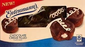 Entenmann's Creme Filled Cupcakes (Chocolate) -