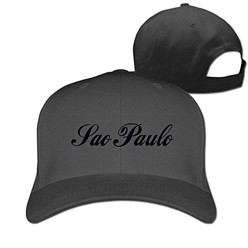 Latin America Sao Paulo City Adjustable Fitted Hats Trucker Hat