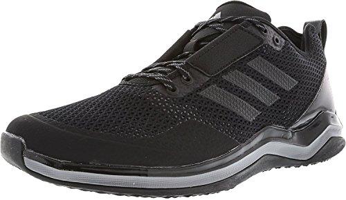 adidas Originals Men's Freak X Carbon Mid Cross Trainer, Black/Black/Iron Metallic, (10.5...
