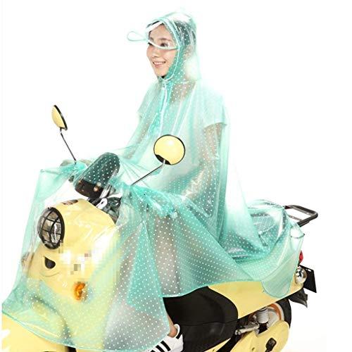 Colors Jacket Brim Unique Outdoor Rain Impermeabile Con 1 88 Bobo Raincoat Stlie Motorcycle Cappuccio Solid Transparent And Fashion Women uOZPXki