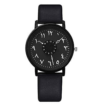 Mymyguoe Reloj Mujer Relojes Hombre Unisex Reloj de Pulsera Relojes de Pulsera para Hombres Reloj Mujer Moda Reloj analogico Reloj de Dama: Amazon.es: Ropa ...