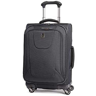 Travelpro Luggage Maxlite3 International Carry-On Spinner, Black, One Size