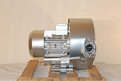 Regenerative Blower 2.75 Hp, 3Phase 220-480V, 7.6 / 4.4 Amp, 106 CFM