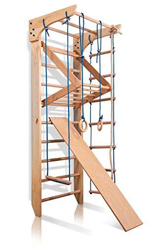 Sprossenwand Holz - Klettergerüst Indoor Holz - KindSport Turnwand