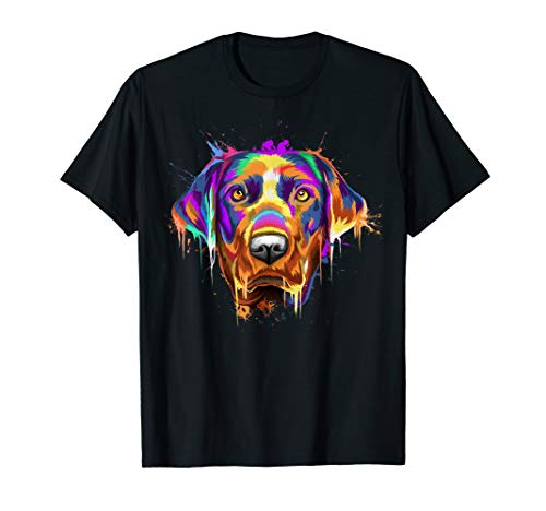 Splash Art Labrador Retriever T-Shirt | Lab Lover Gifts for sale  Delivered anywhere in USA