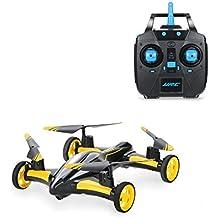 rabing Vehículos de coches Quadcopter Car Control remoto Car y RC Quadcopter control remoto Drone voladora