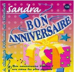 Bon Anniversaire Sandra By Jean Louis Mercier Fred Aberson Patrick