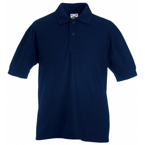 Fruit of the Loom Kinder Polo Shirt, kurzarm (3-4-jährige) (Flaschengrün) 3-4-jährige,Flaschengrün