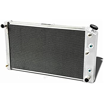 """3 ROW Aluminum Radiator for CADILLAC OLDSMOBILE MANY GM CARS 28/"""" WIDE CORE"""