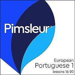 Pimsleur Portuguese (European) Level 1, Lessons 16-20