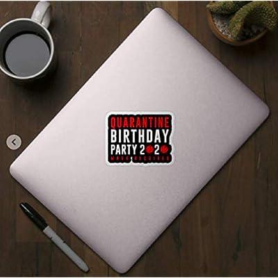 Quarantine Birthday Party Sticker: Arts, Crafts & Sewing