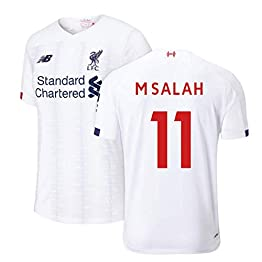 2019-2020 Liverpool Away Football Soccer T-Shirt Maillot (Mo Salah 11)