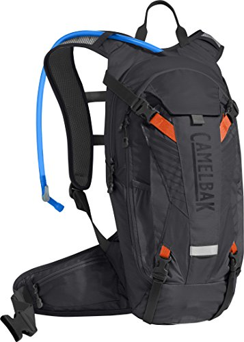 CamelBak K.U.D.U. 8 Crux Reservoir Hydration Pack, Black/Laser Orange, 3 L/100 oz