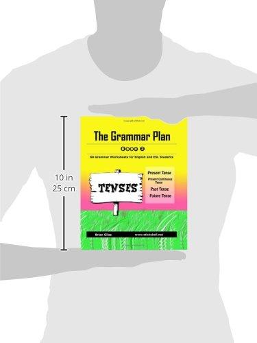 The Grammar Plan (Book 2): Tenses: Step-by-step grammar worksheets ...