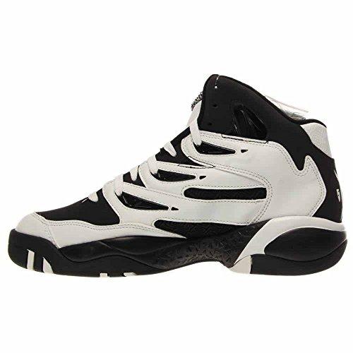 Adidas Mutombo 2 Basketbalschoenen Kern Zwart Wit Zonne-geel C75309