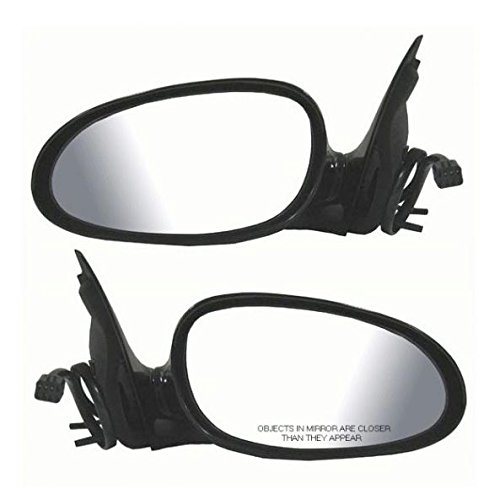 (Power Mirrors Left LH & Right RH Pair Set for 97-05 Buick Regal)