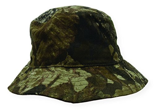 Boonie Bucket Style Hunting Outdoor Cap (Mossy Oak Forest Floor - One Size)