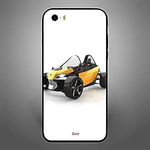 iPhone SE Naked car