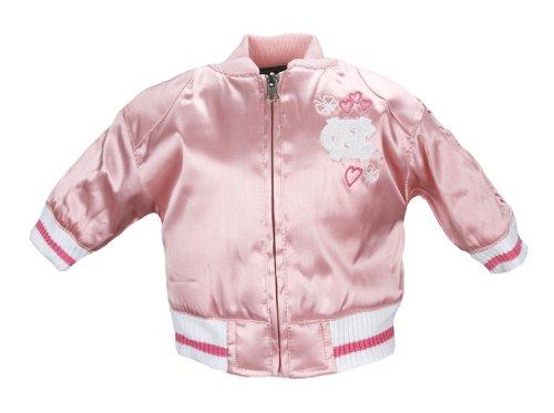 North Carolina University Toddler Girls Satin Cheer Jacket ()