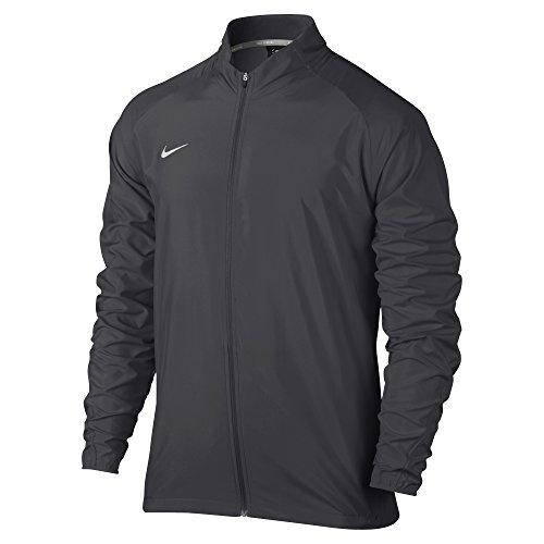 (Nike Men's PR Woven Running Jacket Dark Grey 728257-060 (L))