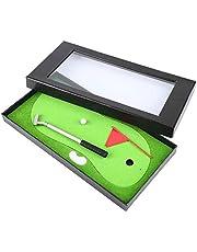 VGEBY1 Juego de bolígrafos de Golf, Mini artículos de papelería para Palos de Golf Que Incluyen bolígrafo de Golf, Pelota de Golf, Bandera, Estera de Golf y Estuche de Regalo