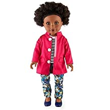 Journey Girls 18 inch doll - Chavonne (Pink Jacket, Striped Shirt and Pants)