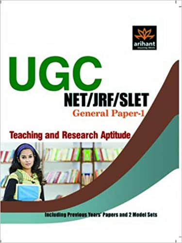UGC NET/JRF/SLET: Teaching And Research Aptitude (General Paper - I) 1st Edition price comparison at Flipkart, Amazon, Crossword, Uread, Bookadda, Landmark, Homeshop18