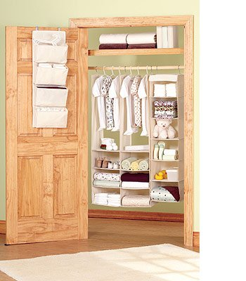 Koala Baby 4 Piece Canvas Closet Set