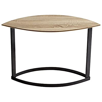Cyan Design Lunare Coffee Tables - Color: brown-bronze-rustic and made of: wooden Finish: oak veneer and black Size: 19.75'' high by 14.25'' wide by 30.75'' long - living-room-furniture, living-room, coffee-tables - 41ktmu 7KOL. SS400  -