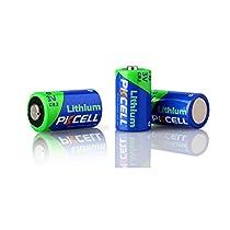 3Pcs 3V Battery cr2 850mAh