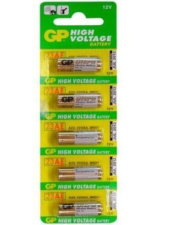 Gold Peak - GP 23A Alkaline Batteries - 12 Pack