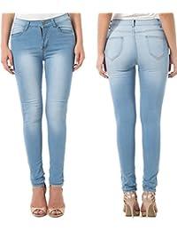 Women's Skinny Jean Leggings,High Waisted Stretch Slim Denim Butt Lift Super Comfy Jeggings