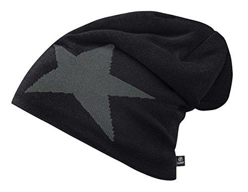 Brandit of Pack 2 Star Beanie Unisex Negro IwrxZqI