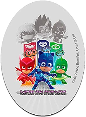 Parches - PJ MASKS Héroes en pijamas WE´RE ON OUR WAY 2 Disney - colorido - 11 x 8 cm - by catch-the-patch termoadhesivos bordados aplique para ropa