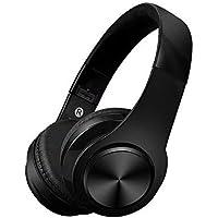 Cic Fone De Ouvido Dobrável Bluetooth Microfone Atende Ligacao On Ear Cancelamento De Ruído E Som Stéreo Integrado E Suporte Para Celulares, Pc E Televisores, Preto