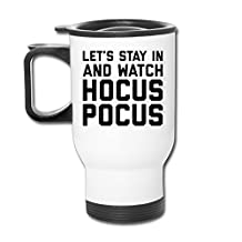 Let's Stay In Watch Hocus Pocus Baseball Travel Mugs Coffee Mugs Thermos