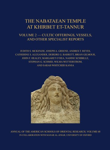 Nabataean Temple at Kirbet Et-Tan V2 Hb: Cultic Offerings, Vessels, and Other Specialist Reports. Final Report on Nelson Glueck's 1937 Excavation, ... of the American Schools of Oriental Research)