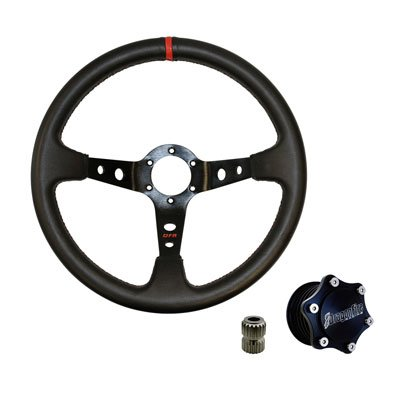 Dragonfire Racing Sport V Quick-Release Steering Wheel Kit for Can-Am Maverick X3 X RS Turbo R 2017-2018