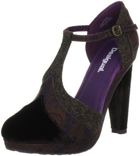 Desigual Women's Manila Shoes,Brown Multi,37 M EU