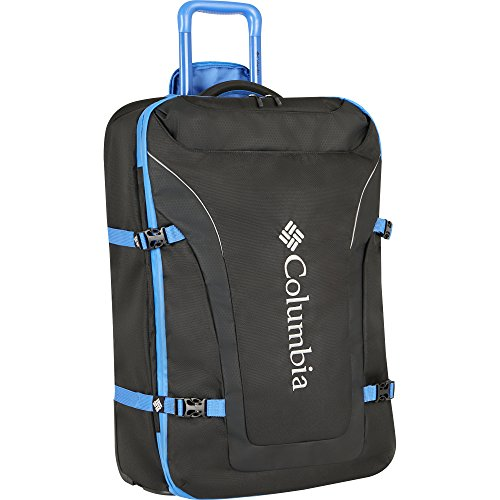 Columbia Men's Free Roam 21'' Expandable Rolling Carry on, Stormy Blue Black by Columbia