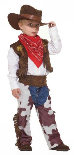 Childs Western Country Cowboy Halloween Costume Small 4-6 (Halloween Costumes Cowboy)