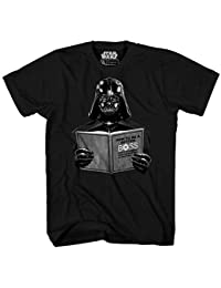 8e3c613c4 Darth Vader Dark Side Empire Funny Humor Pun Adult Men's Graphic Tee T-Shirt