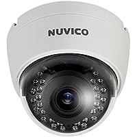 Nuvico 2.8-12mm Varifocal 1080p Indoor IR Day/Night Dome HD-TVI Security Camera 12VDC/24VAC - Ivory