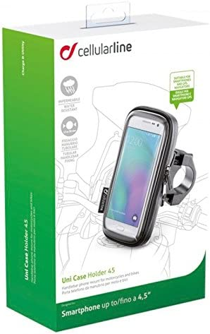 Interphone Cellularline Case For Smartphone to Motorcycle: Amazon ...