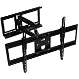 Paramita TV Wall Mount Bracket, for most 23-60 Inch LED, LCD, OLED and Plasma Flat Screen TV, with Full Motion Swivel Articulating Dual Arms, up to VESA 600x400mm and 99 LBS with Tilting
