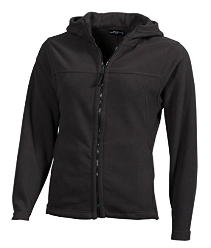 Chaqueta Microfleece con capucha Chaqueta Mujer dark-grey