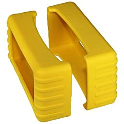 82 Series Rubber Boot Size 8 - Yellow (Pair) - 1.5 Inch X 5.25 Inch X 2 Inch