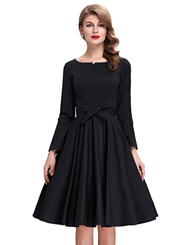 Womens Vintage Dresses Stretchy Dress product image