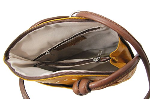Cuoieria Handbag Leather Fiorentina Brown Convertible Shoulder Italian Backpack zxqzUrnwT1