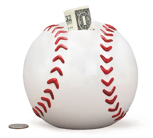 Baseball Shape Piggy Saving Sports product image